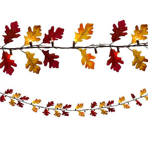 Fall Leaves String Lights Image #1
