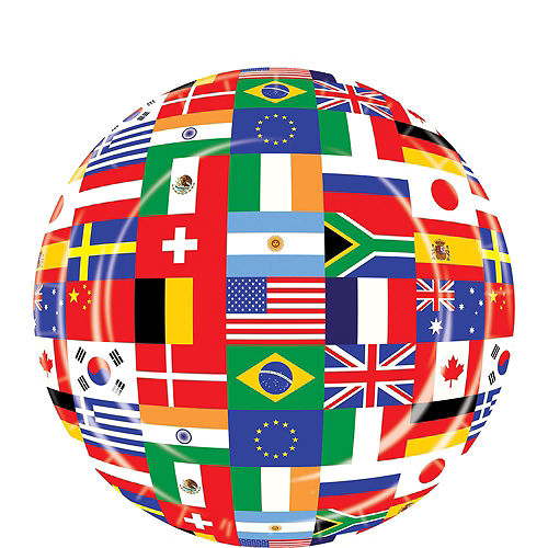 International Flag Party Supplies Deluxe Party Kit for 32 Guest Image #2