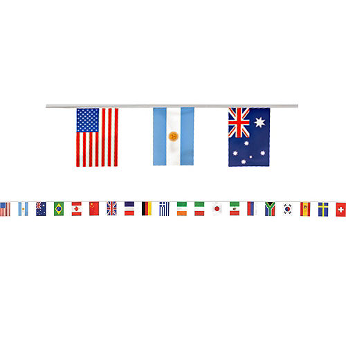 International Flag Party Supplies Deluxe Party Kit for 32 Guest Image #10