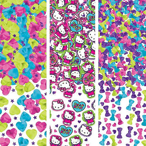 Rainbow Hello Kitty Confetti Image #1