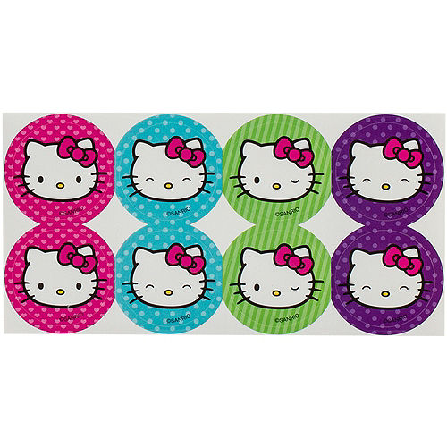 Rainbow Hello Kitty Thank You Notes 8ct  Image #3