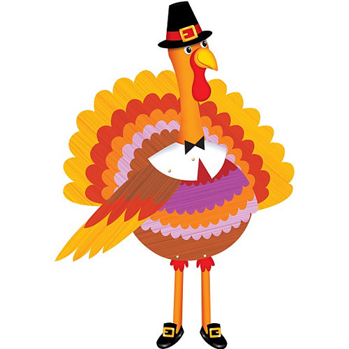 Jointed Turkey Cutout Image #1