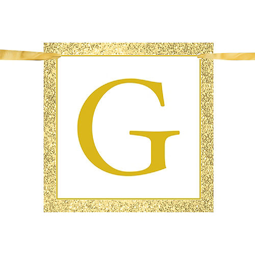 Glitter Give Thanks Banner Image #2