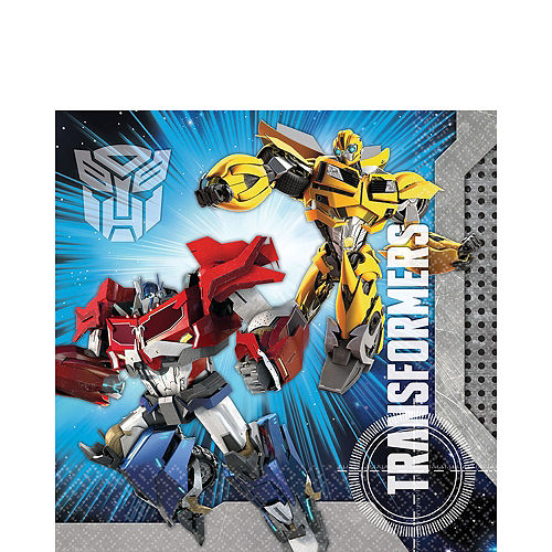 Transformers Lunch Napkins 16ct Image #1