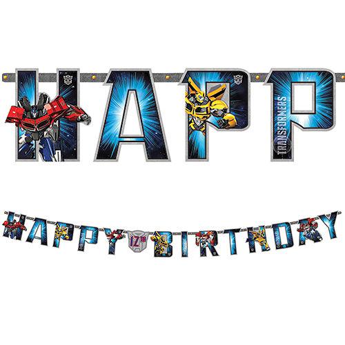 Transformers Birthday Banner Image #1