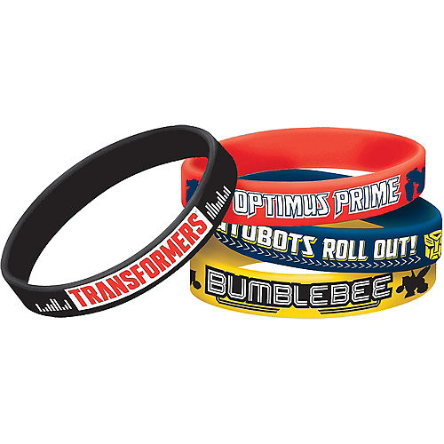 Transformers Wristbands 4ct Image #1