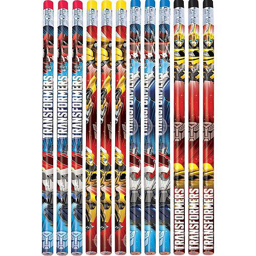 Transformers Pencils 12ct Image #1