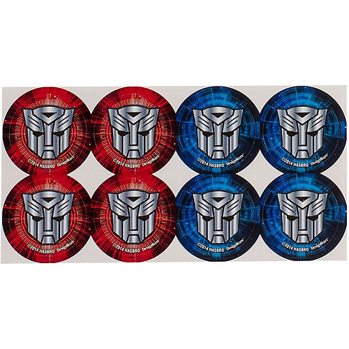 Transformers Thank You Notes 8ct Image #2