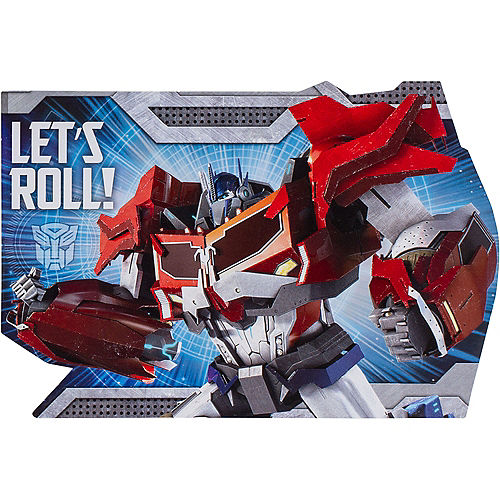 Transformers Invitations 8ct Image #1