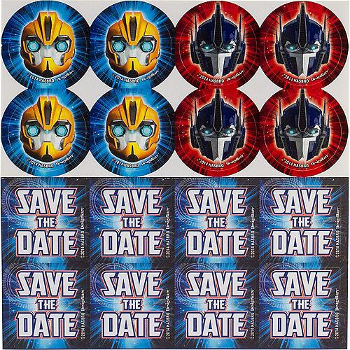 Transformers Invitations 8ct Image #2