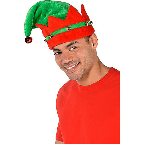 Deluxe Plush Elf Hat Image #2