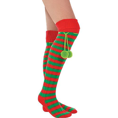 Holiday Elf Boot Socks Image #1