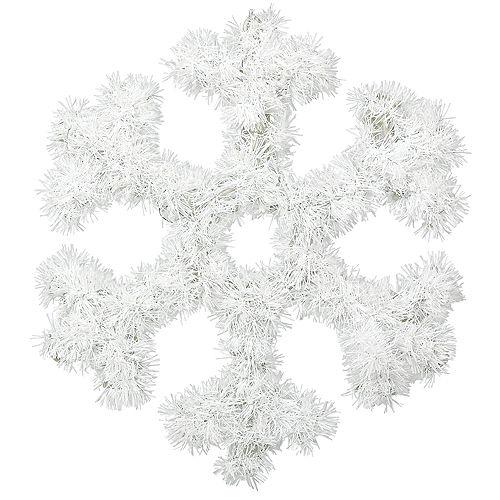 Tinsel Snowflake Image #1
