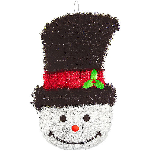 Deluxe Tinsel Snowman Image #1