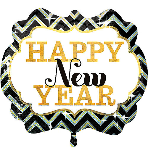 Happy New Year Balloon - Marquee, 25in Image #1