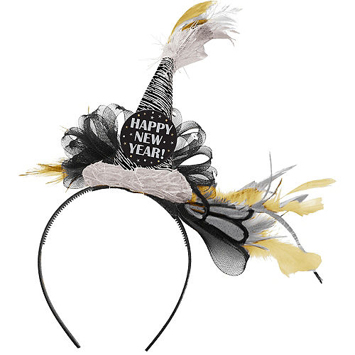New Year's Fascinator Headband Image #1