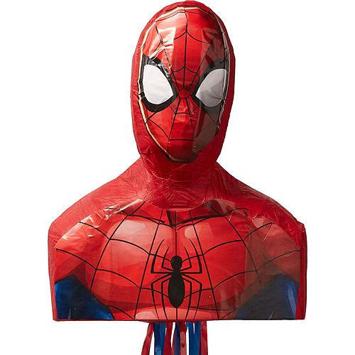 Pull String Spider-Man Pinata Kit Image #2
