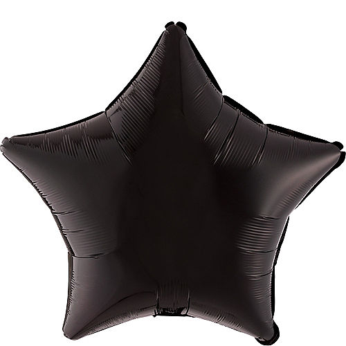Black Star Balloon, 19in Image #1