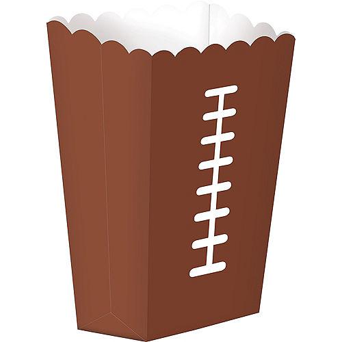 Football Popcorn Boxes 8ct Image #1
