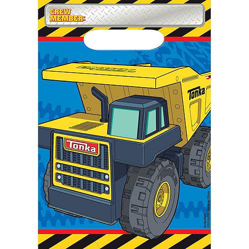 Tonka Truck Favor Bags 8ct Image #1