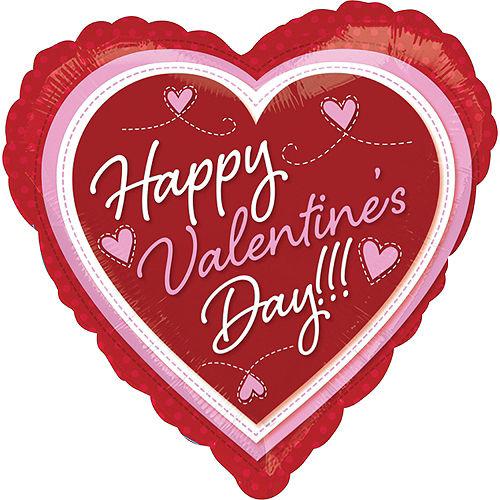 Happy Valentine's Day Balloon - Heart Image #1