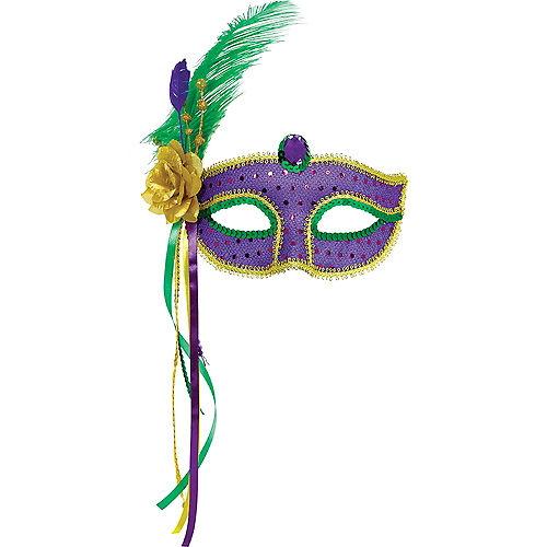 Fashion Mardi Gras Mask Image #1