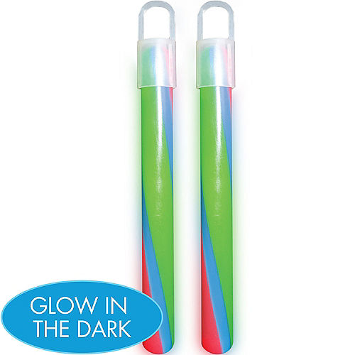 Swizzle Glow Stick Necklaces 2ct Image #1