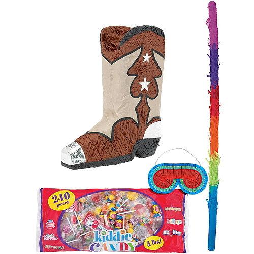 Cowboy Boot Pinata Kit Image #1