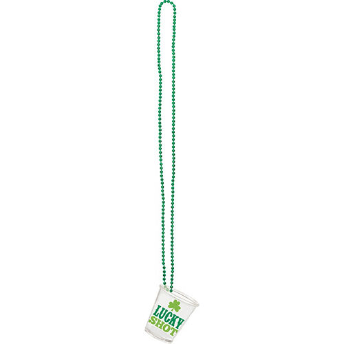 St. Patrick's Day Shot Glass Necklaces 4ct Image #4