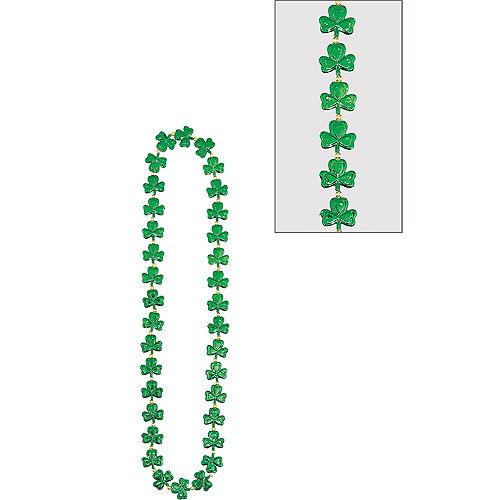 Frenzy of Shamrocks Necklace Image #1