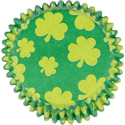 St. Patrick's Day Shamrock Cupcake Decorating Kit Image #2