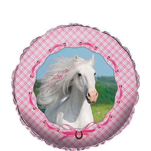Heart My Horse Balloon, 18in Image #1