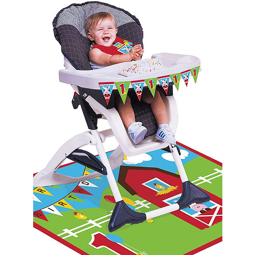 Farmhouse Fun 1st Birthday High Chair Kit 3pc Image #1