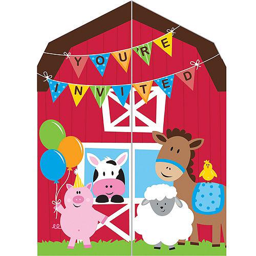 Farmhouse Fun Invitations 8ct Image #1