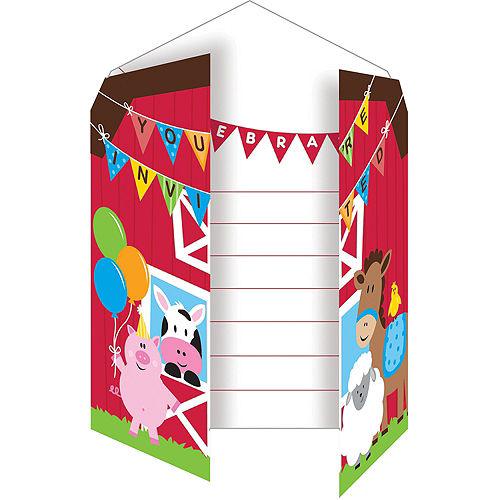 Farmhouse Fun Invitations 8ct Image #2