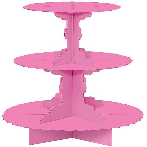 Bright Pink Cupcake Stand Image #1