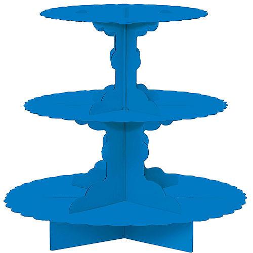 Royal Blue Cupcake Stand Image #1