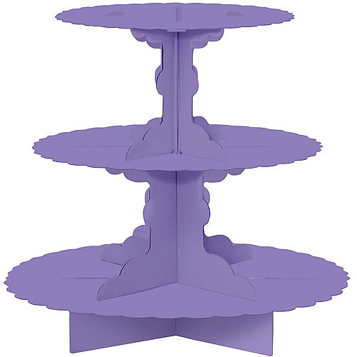 Purple Cupcake Stand Image #1