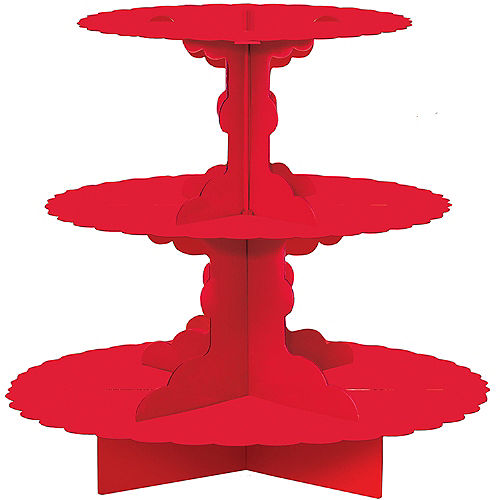 Red Cupcake Stand Image #1