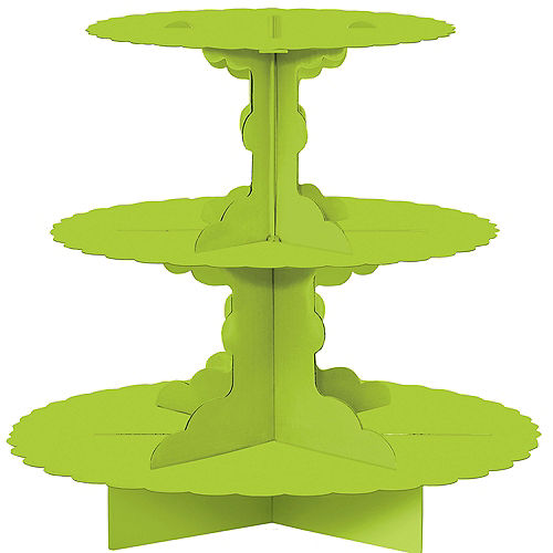Kiwi Green Cupcake Stand Image #1