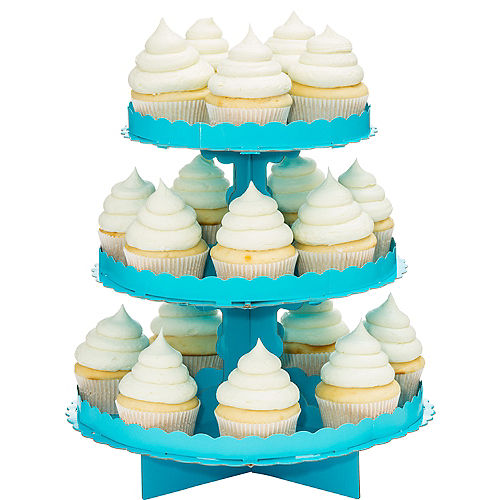 Caribbean Blue Cupcake Stand Image #1