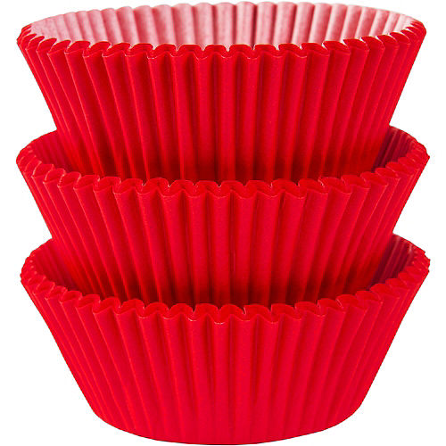 Red Baking Cups 75ct Image #1
