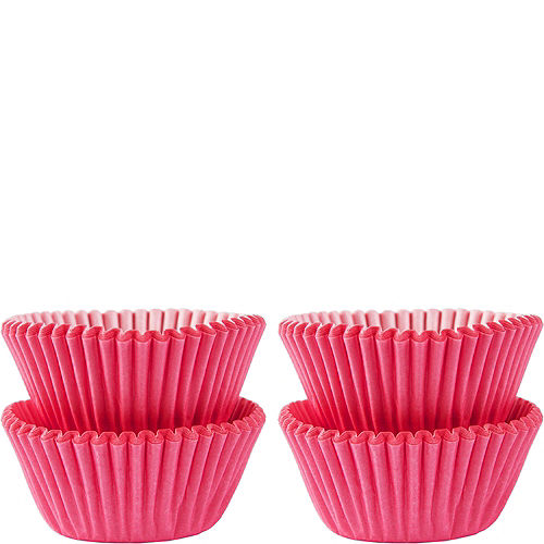 Mini Pink Baking Cups 100ct Image #1