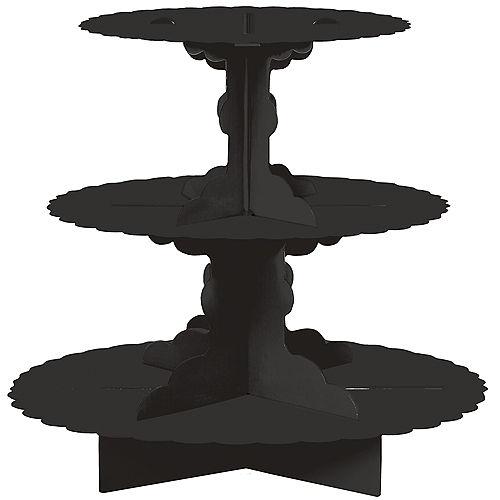 Black Cupcake Stand Image #1