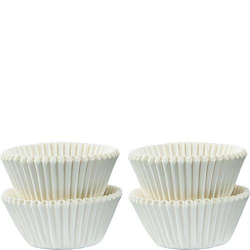 Mini White Baking Cups 100ct Image #1