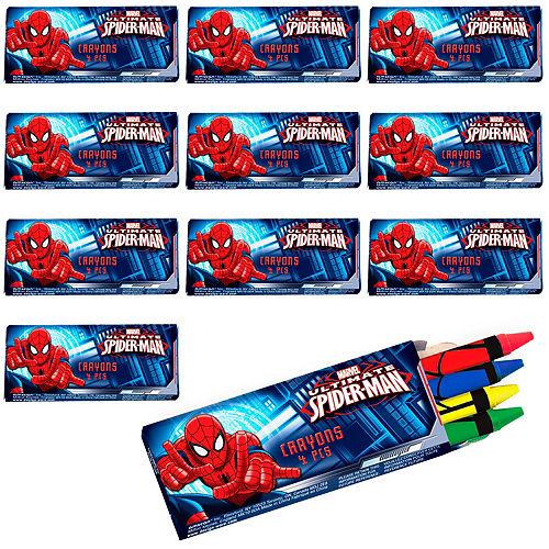 Spider-Man Crayons 48ct Image #1