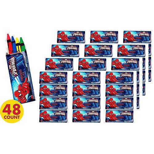 Spider-Man Crayons 48ct Image #2