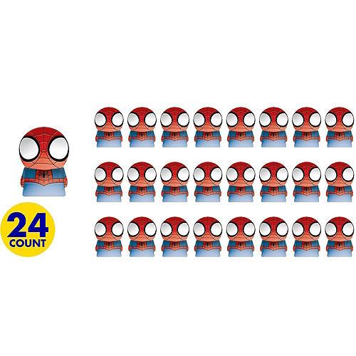 Spider-Man Finger Puppets 24ct Image #2