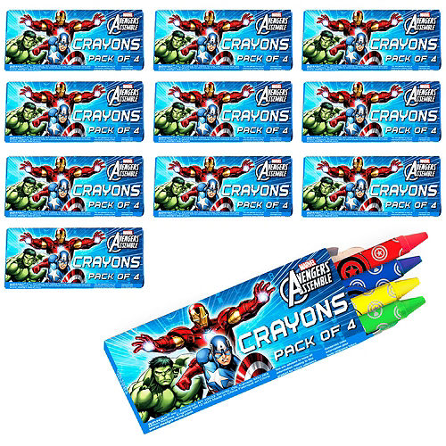 Avengers Crayons 48ct Image #1