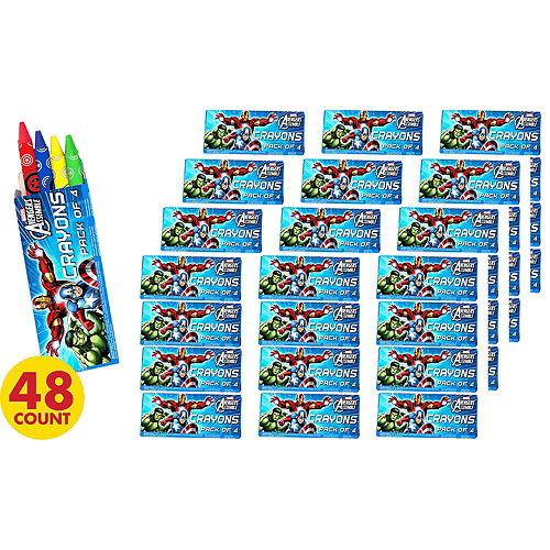 Avengers Crayons 48ct Image #2